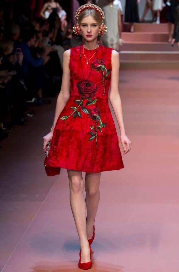 модное платье на Новый год
