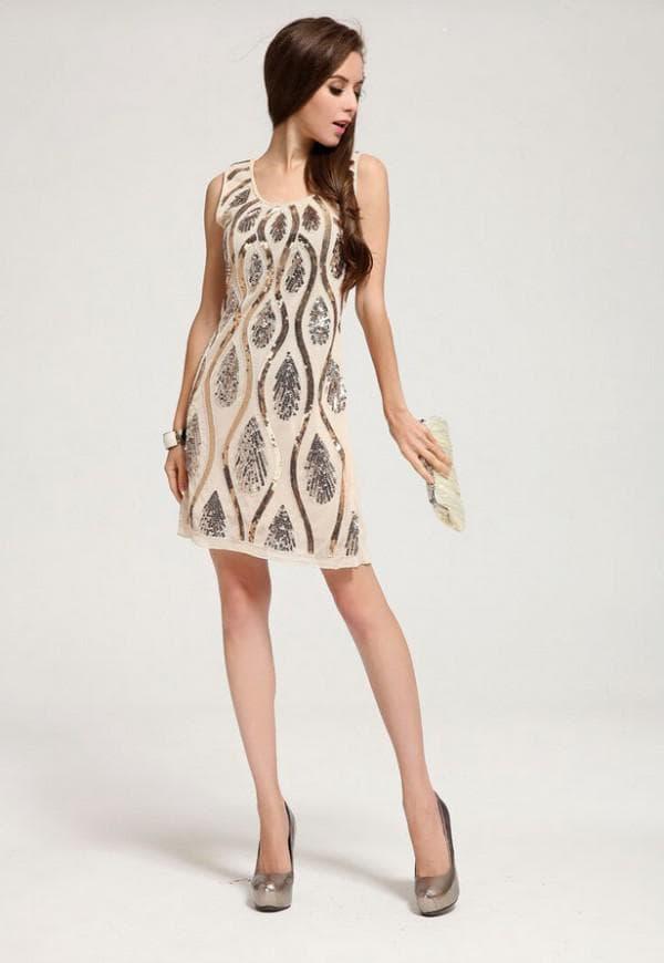 короткое платье для гостьи на свадьбу