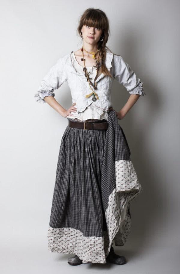 платье в стиле прованса