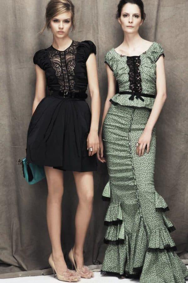 модные платья в стиле прованс