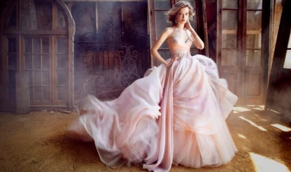 пышное свадебное платье в тренде