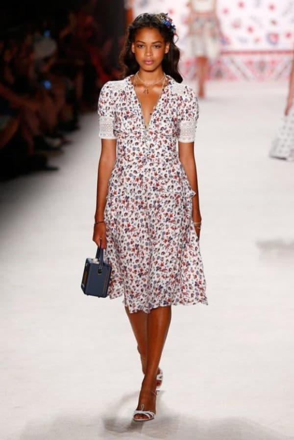 Модное платья на лето для полных