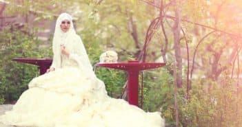 Платье для невесты мусульманки