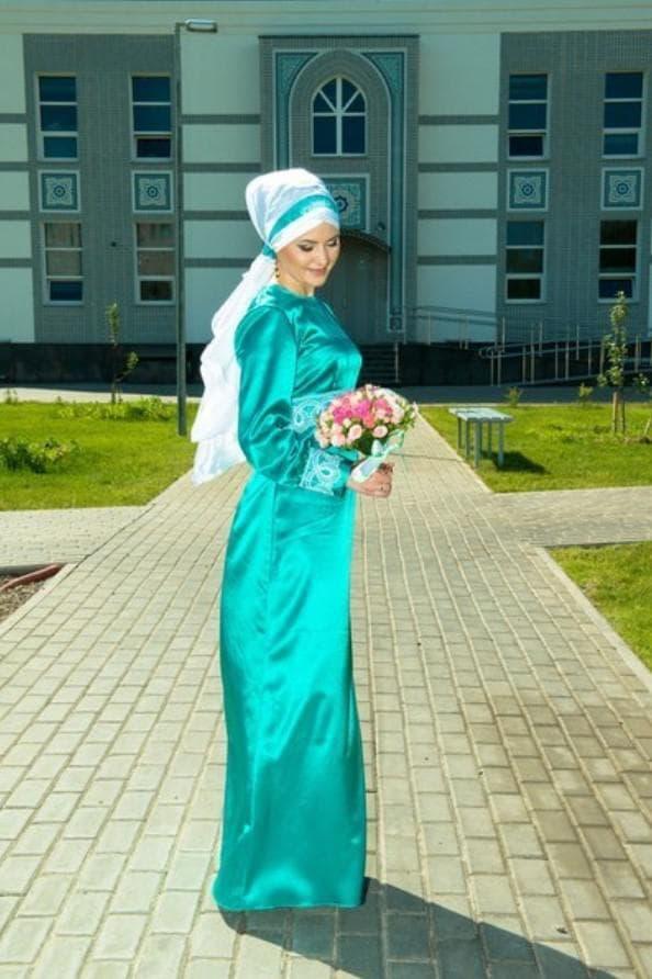 Мусульманские свадебные платья - красивые и женственные