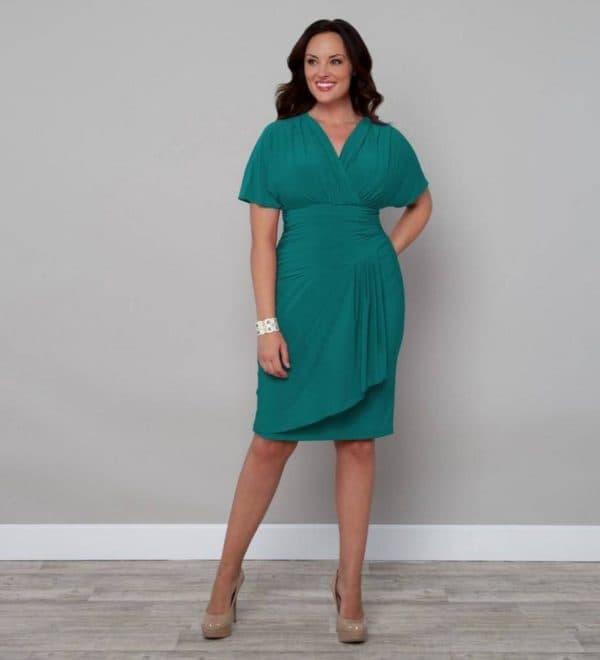 Повседневное платье для женины большого размера за 50