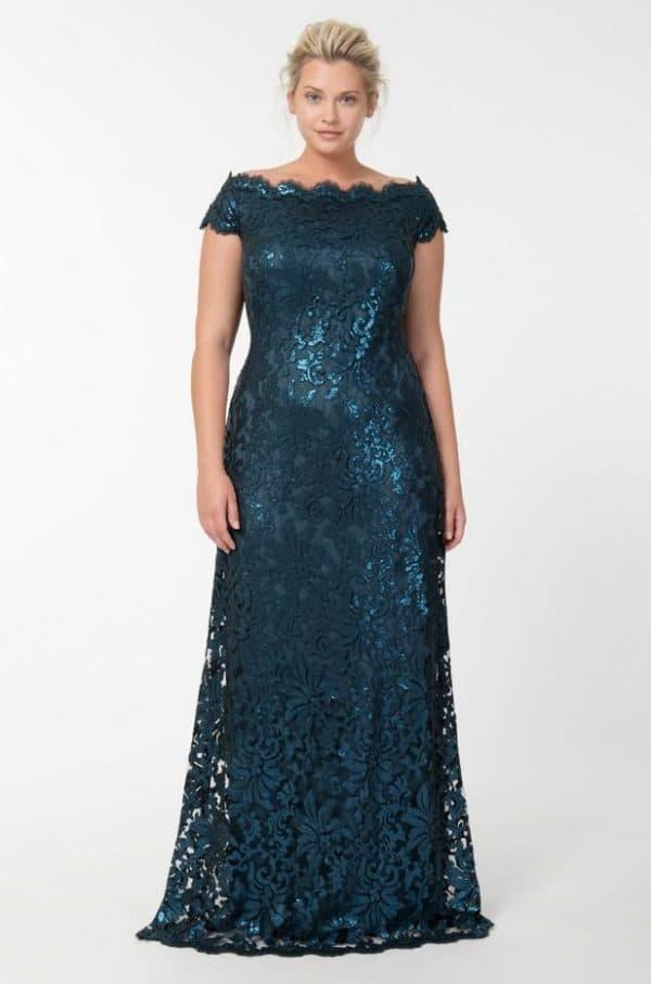 Вечернее платье для полной красавицы