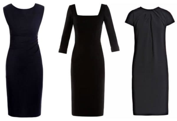 Как выкроить платье футляр на лето для полной женщины