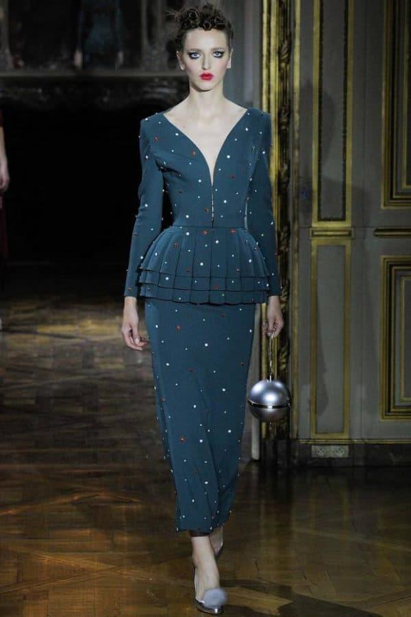 Вечернее платье элегантное