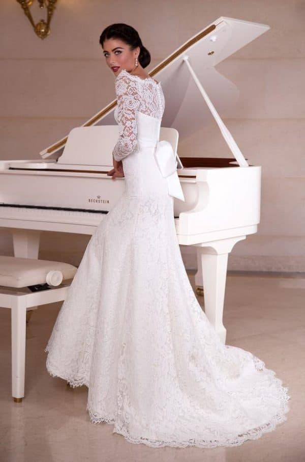 Роскошное венчальное палтье