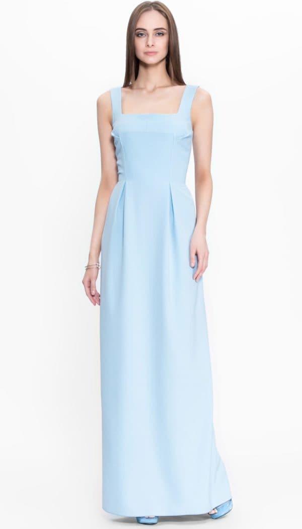 Романтичное длинное платье для выпускницы