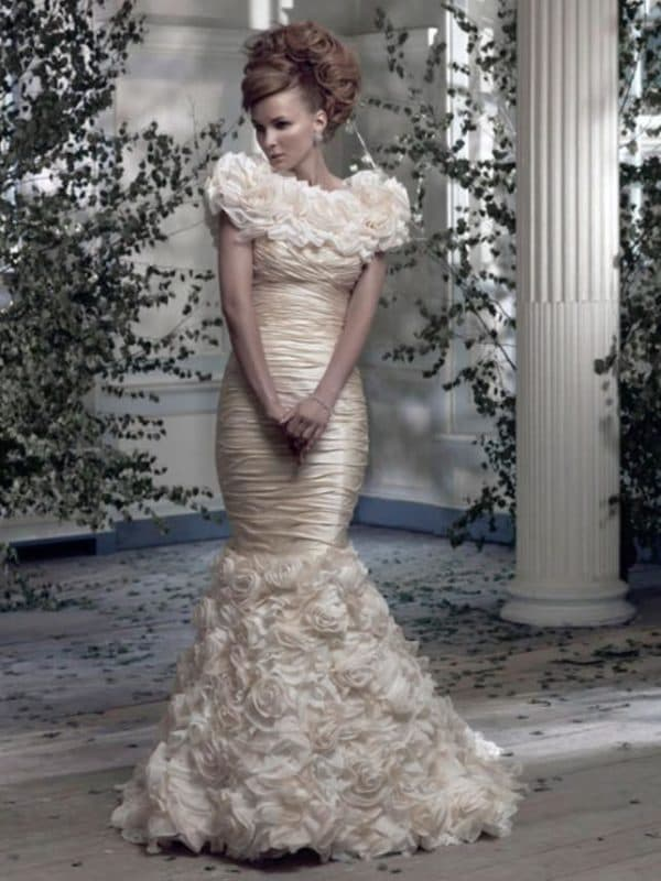 Модное платье для венчания