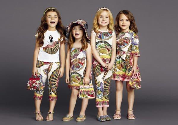 Детские модные платья и костюмы