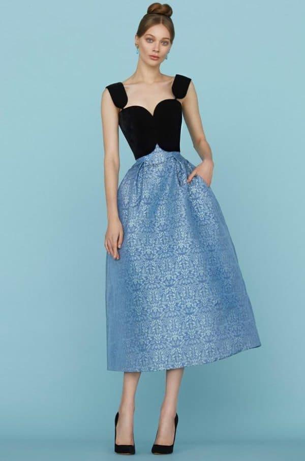 Коктейльное платье от Ульяны Сергеенко