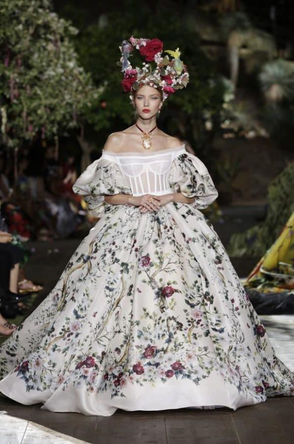 Свадебное платье Дольче Габбана