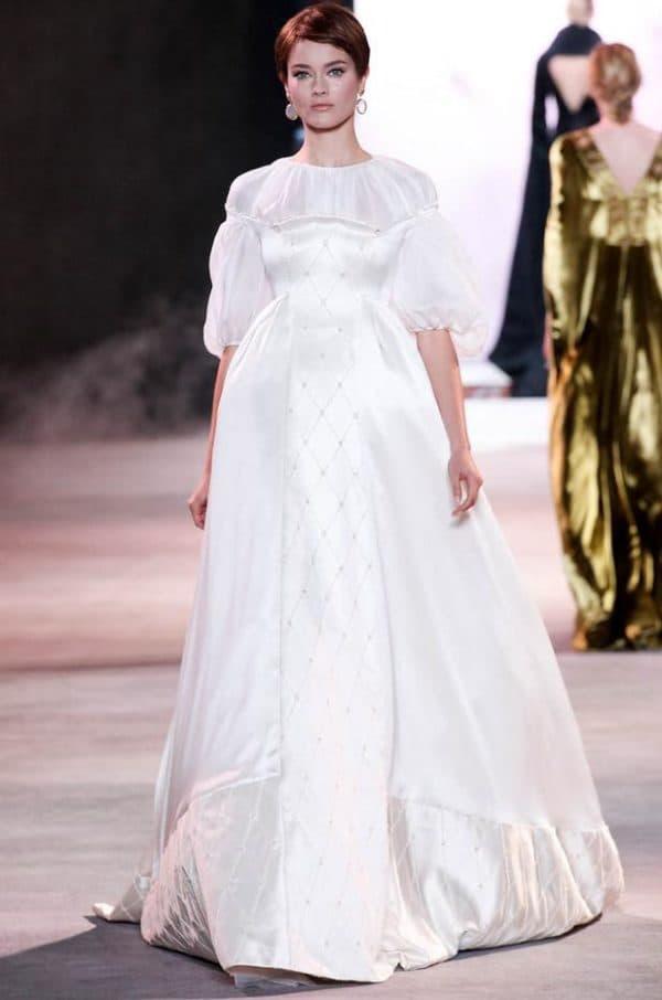 Пышное свадебное платье Ульяны Сергеенко