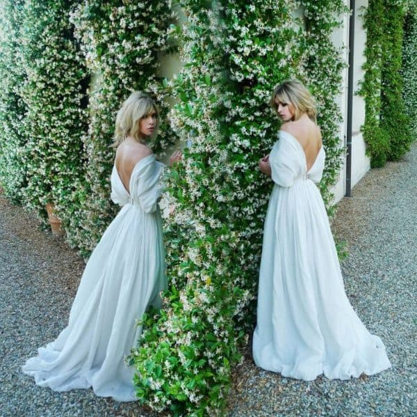 Платье Веры Бежневой на годовщину свадьбы