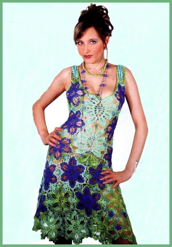Платье из ирландского кружева своими руками