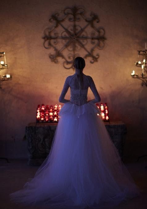 Свадебное платье  з последней коллекции Веры Вонг