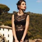 Фасон для страстных натур — кружевное платье в пол