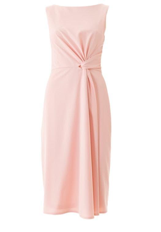 Розовое платье на последний звонок