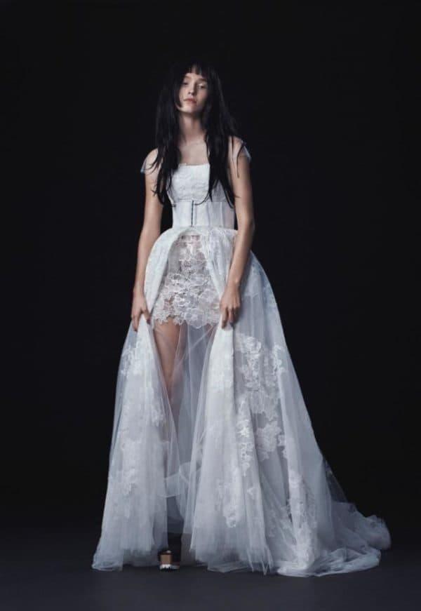 Свадебное платье трансформер от Веры Вонг