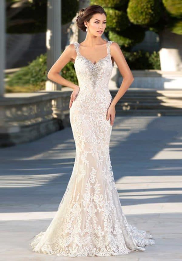 Свадебное платье айвори от Зухаира Мурада