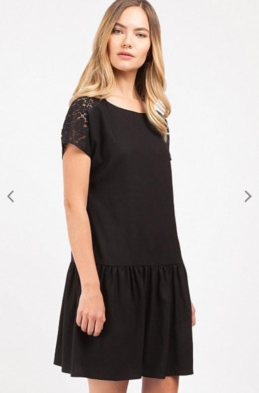 Черное платье от Киры Пластининой