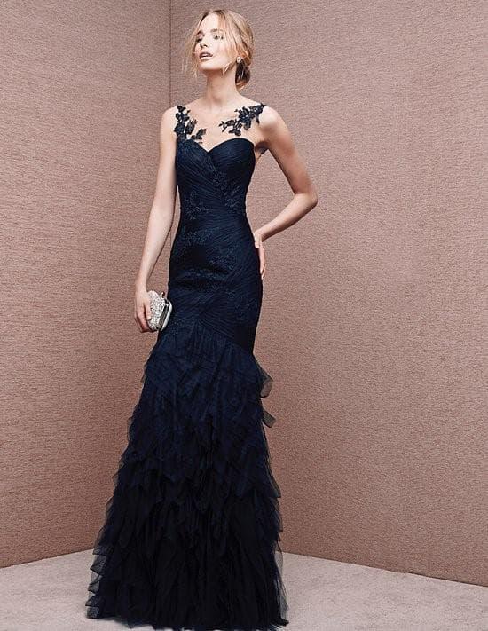 Модное вечернее платье в пол