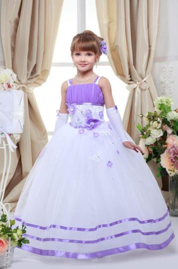 Нежное платье принцесса для маленькой модницы
