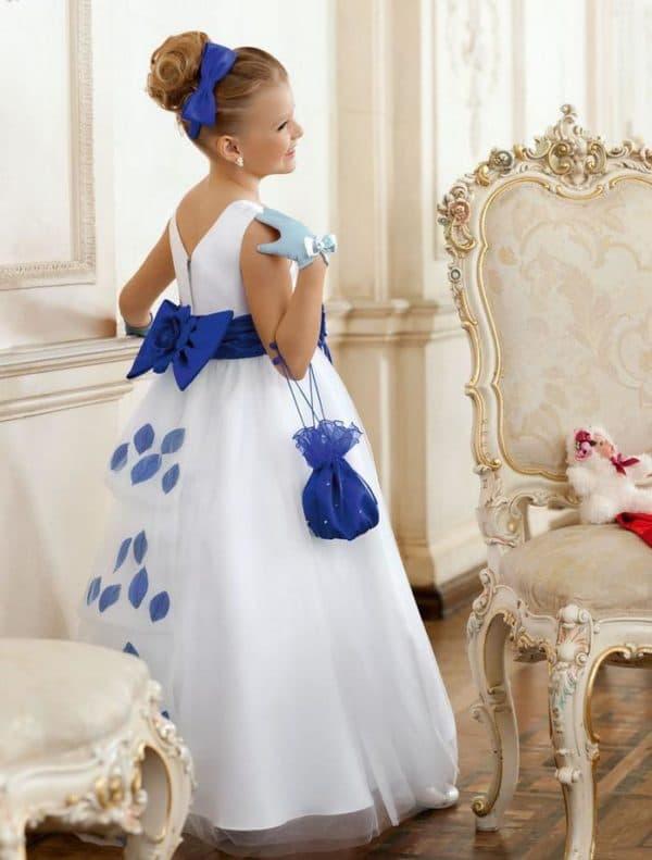 Роскошное платье принцесса на выпускной в садике