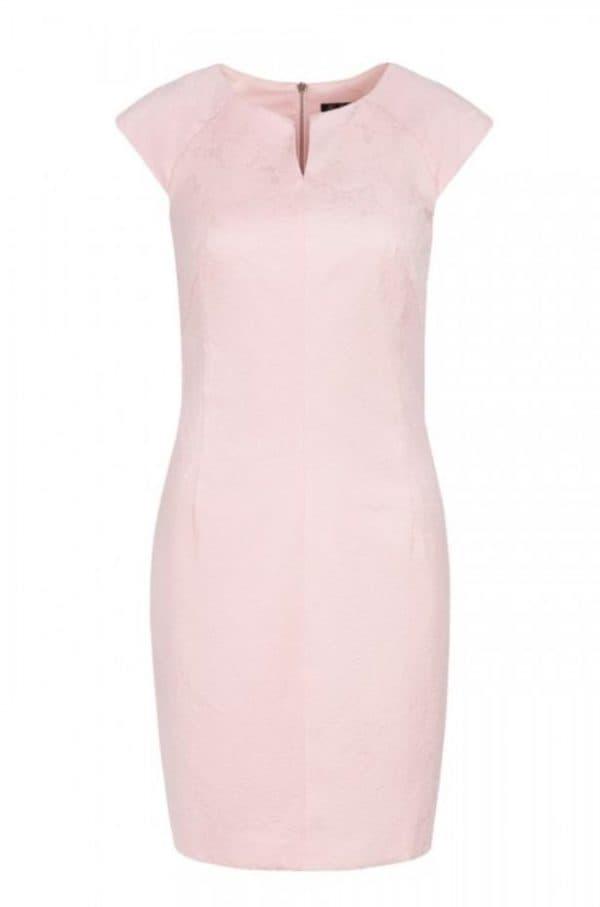 Короткое розовое платье Кира Пластинина