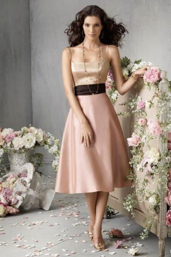 Вечернее платье для леди на свадьбу