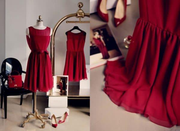 Мастерская для пошива платья дома