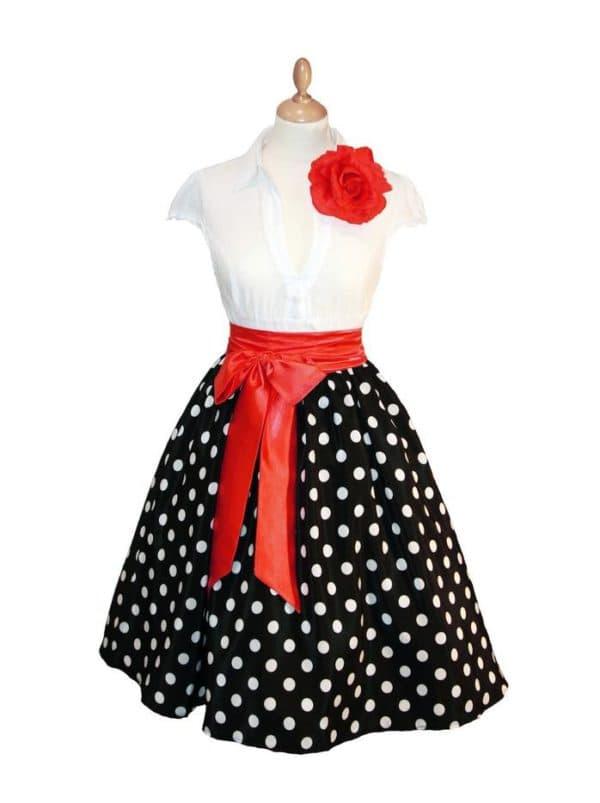 Недорогое детское платье в стиле стиляг
