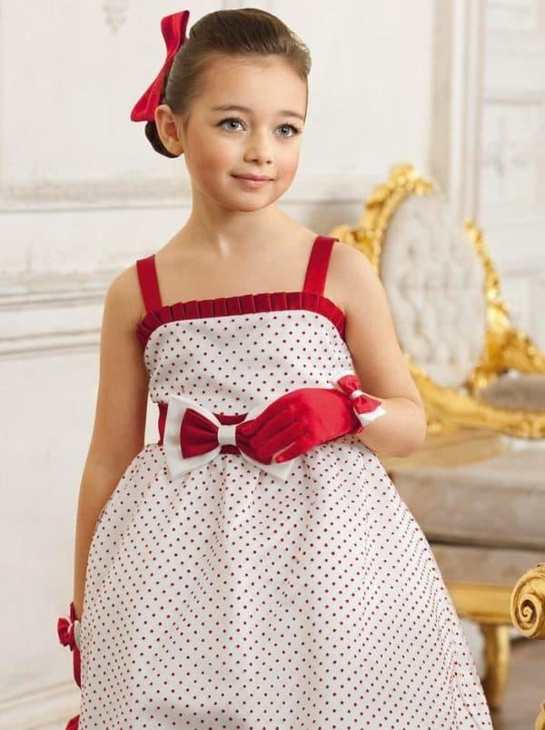 Красивое платье в стиле стиляги детское