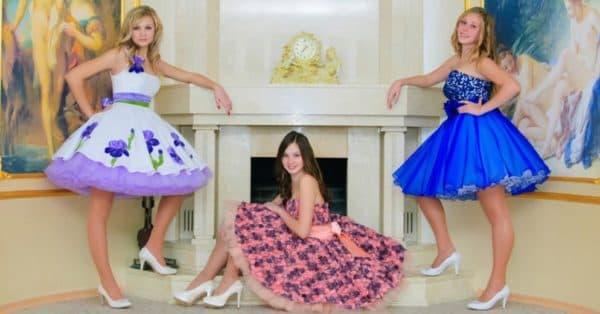 Детские платья в стиле стиляги