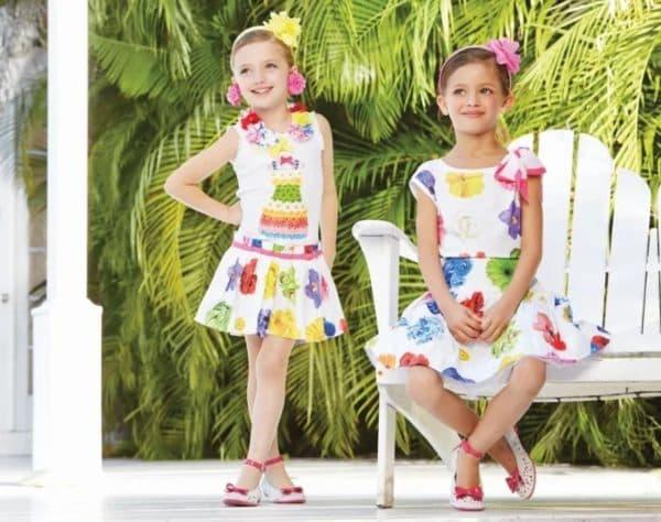 Стильные нарядные платья для девочек BodeBo