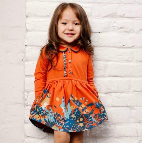 Повседневное детское платье Kogankids