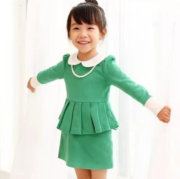Элегантное детское платье на каждый день